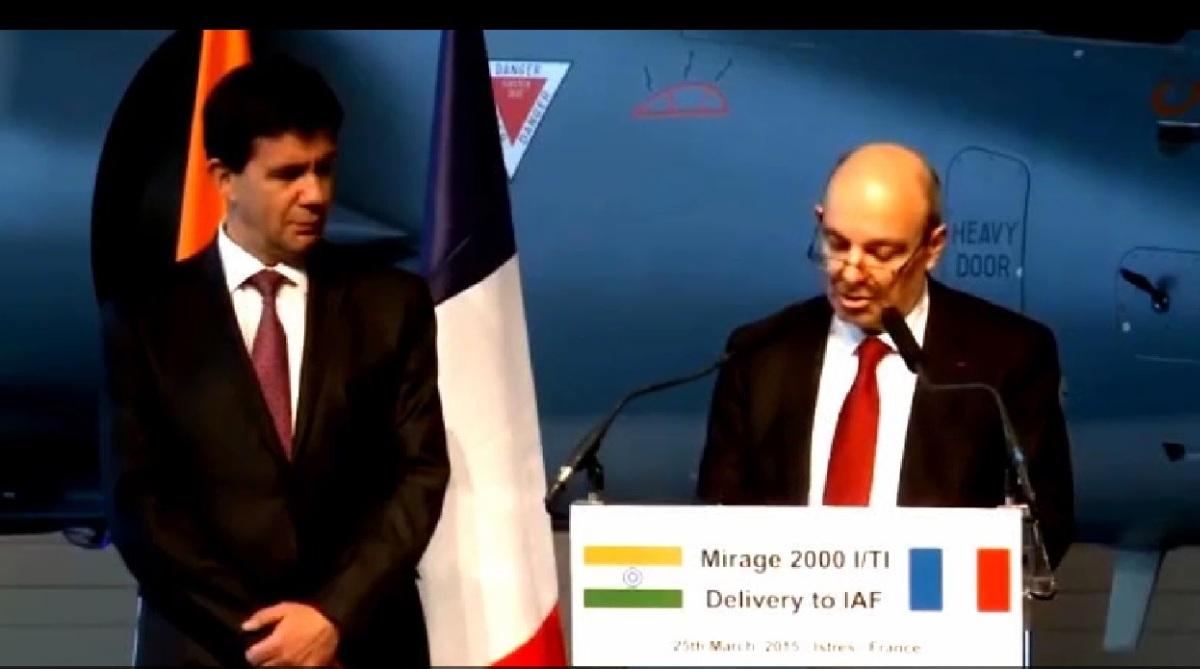 Congress, 2015 video, Dassault chief, HAL, Eric Trappier
