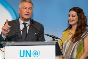 Dia Mirza's special moment with Alec Baldwin