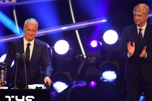 France's Didier Deschamps named FIFA best men's coach of the year