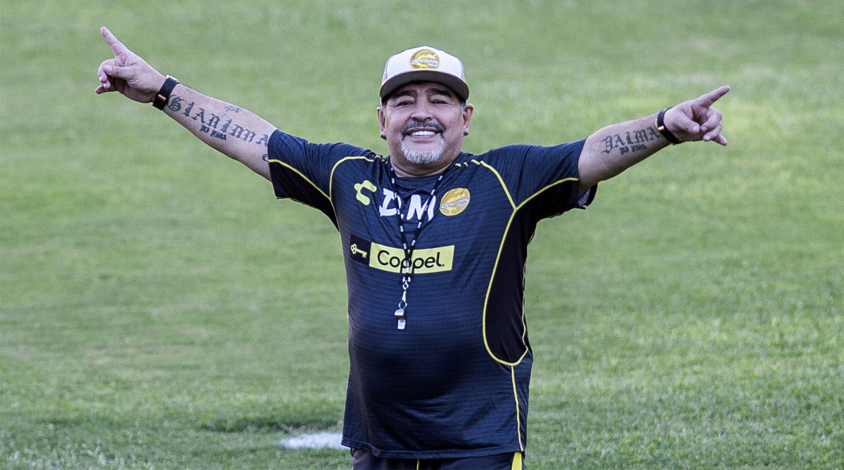 Diego Maradona, Argentina Football, 2018 FIFA World Cup, FIFA World Cup 2018, Mexico Football, Dorados of Sinaloa