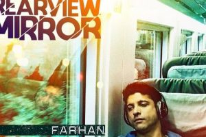 Farhan Akhtar's first single Rearview Mirror is out now