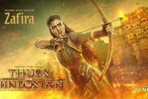 Thugs of Hindostan: Fatima Sana Shaikh as Zafira aces warrior look
