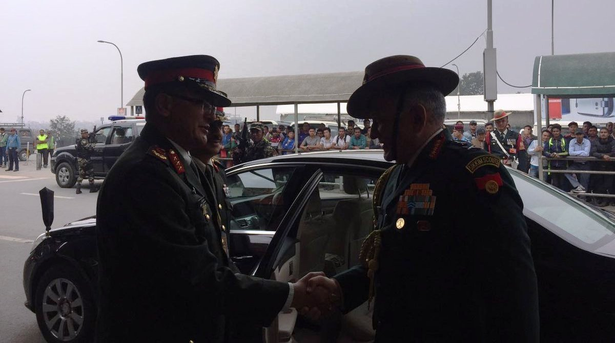 Nepali Army Chief, General Purna Thapa, Nepal Army, Chief of Army Staff