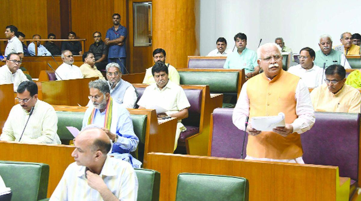 Haryana Assembly, tributes, Atal Bihari Vajpayee, Manohar Lal Khattar, Balramji Dass Tandon, Somnath Chatterjee,M. Karunanidhi