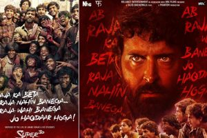 Super 30 | Hrithik Roshan shares new posters on Teachers' Day