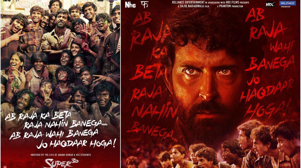 Super 30 | Hrithik Roshan shares new posters on Teachers' Day