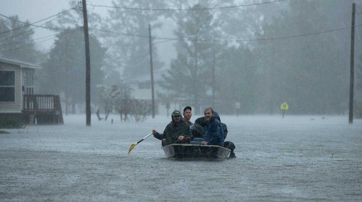 Hurricane Florence, US East Coast, heavy rain, US East Coast Hurricane