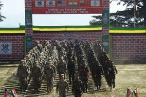 Uttarakhand: Indo-US joint military exercise begins in Almora