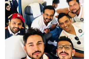 Asia Cup 2018: Skipper Rohit Sharma, MS Dhoni leave for Dubai