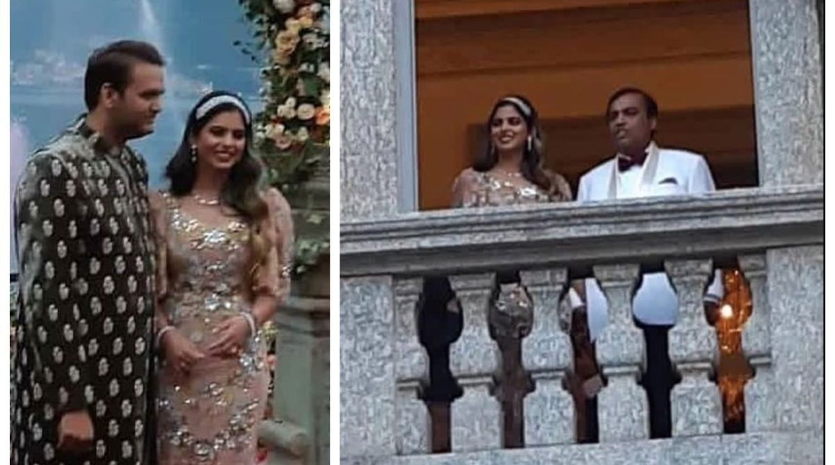 Isha Ambani-Anand Piramal engagement no less than dreamy affair, see pictures