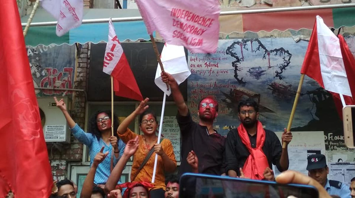 JNUSU election 2018 results, JNUSU election results, JNUSU results, JNUSU election 2018, United Left, ABVP