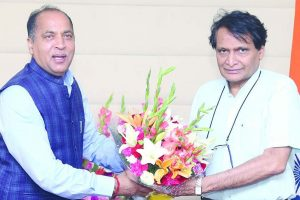 Mandi Airport: Jai Ram urges Centre to expedite work