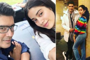 In Pictures: Janhvi Kapoor, Manish Malhotra are all smiles in Switzerland