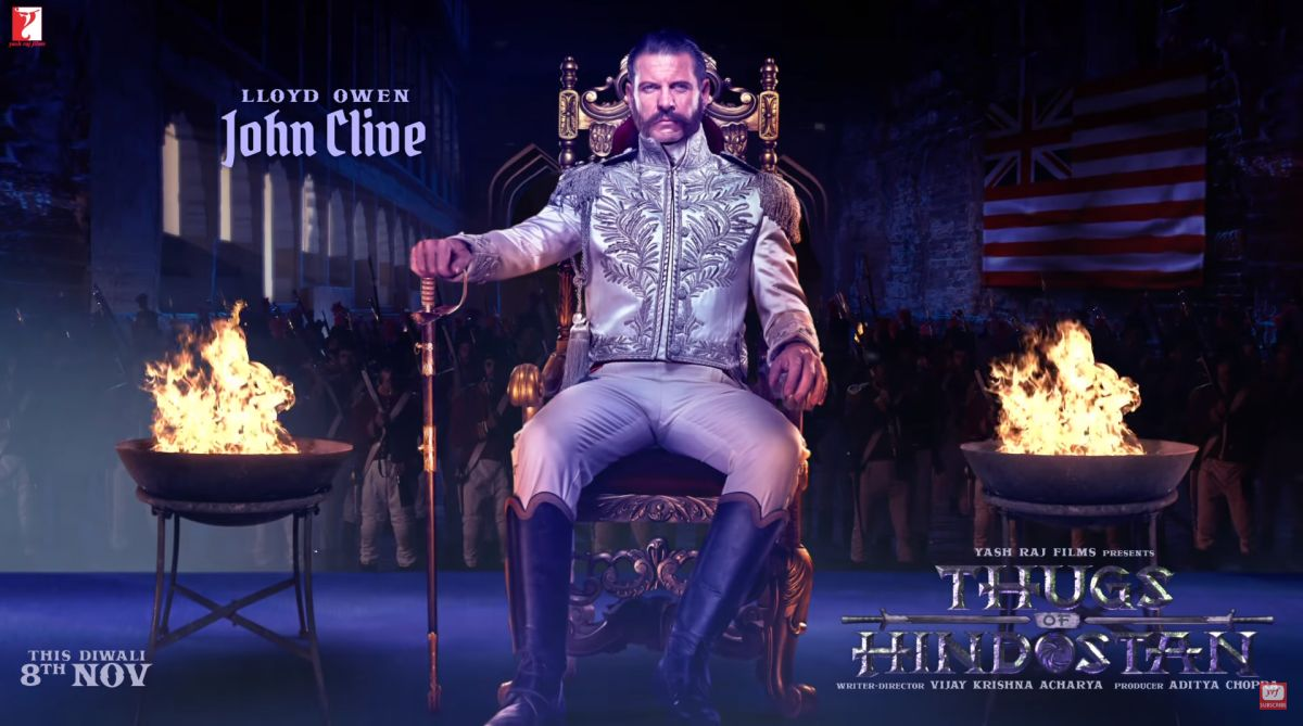 Thugs of Hindostan | Motion poster of 'cruel and merciless' John Clive released