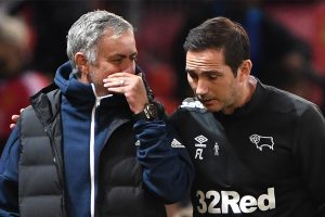 Carabao Cup: Frank Lampard's Derby County send Jose Mourinho's Manchester United packing
