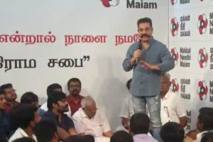 Kamal Haasan extends support to student who raised slogans against BJP