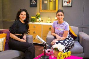 Kareena Kapoor records debut radio show with Sunny Leone