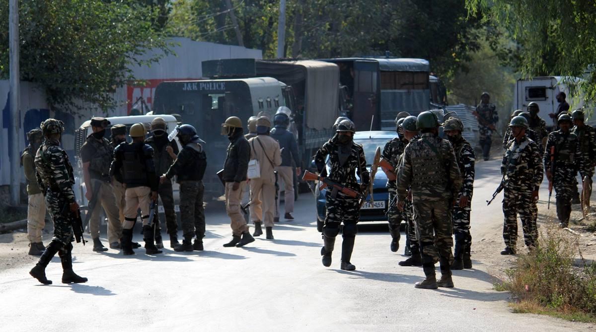 Chowgam encounter, Kashmir encounter