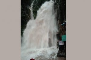 Day after sudden rise in force, Kempty falls closed for tourists