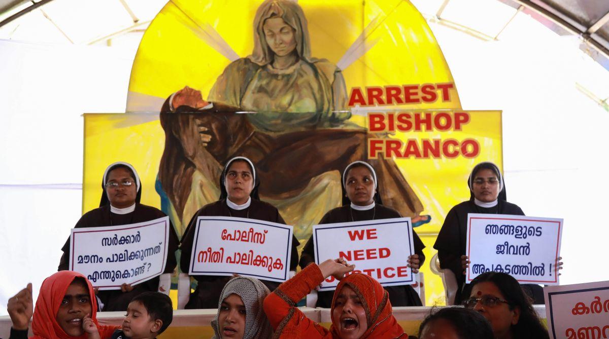 Kerala nun rape, Bishop Franco Mulakkal, Jalandhar diocese, Sister Lucy, StMary's Church, Missionaries of Jesus