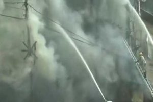 Massive fire at Kolkata's Bagree market, no casualty reported