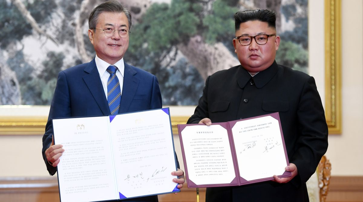North Korea, denuclearisation, Pyongyang summit, South Korea, United States, Kim Jong Un, Moon Jae-in