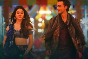 LoveYatri: Aayush Sharma, Warina Hussain groove to the festive beats of Dholida