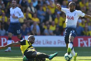 Tottenham Hotspur winger Lucas Moura named EPL footballer for August
