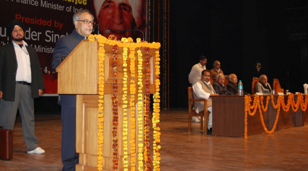 Pranab Mukherjee to teach Public Policy to students of IIT-Ahmedabad
