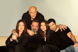 Sadak 2: Sanjay Dutt, Pooja Bhatt, Alia Bhatt, Aditya Roy Kapur in Mahesh Bhatt's directorial