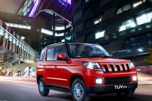 Mahindra TUV300 facelift launch in 2019