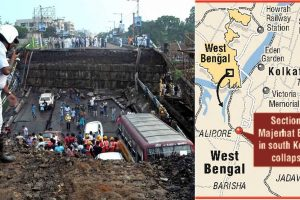 One dead in Majerhat bridge collapse | PM expresses grief, Governor calls for probe