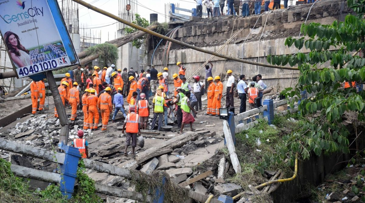 Kolkata Bridge Collapse, West Bengal, Bengal Bridge Collapse
