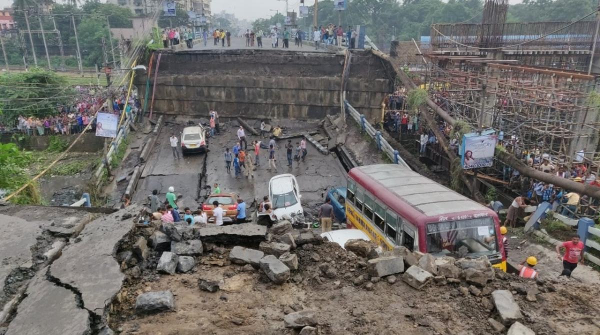 Kolkata, Majerhat Bridge, Collapses, Alipore locality