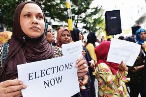 Maldives presidential election underway, results expected next Sunday