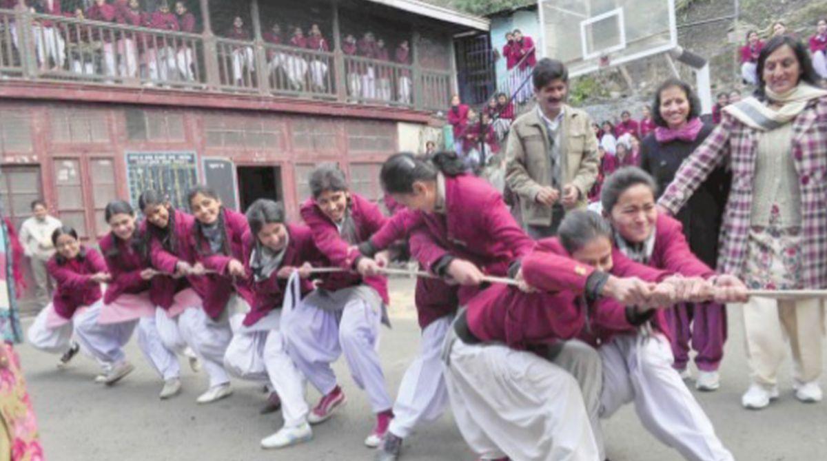 Himachal Pradesh, Amarjeet K Sharma, Education Department, Mandi district, teacher