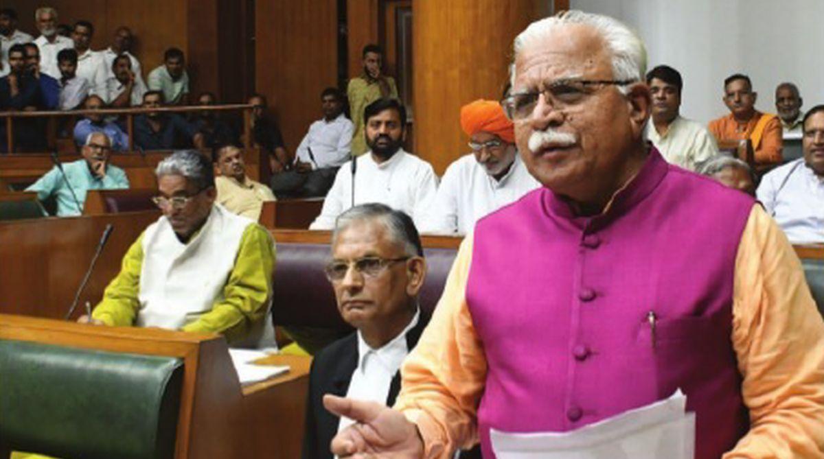 Manohar Lal Khattar, 2019 Lok Sabha, power tariff, electricity connection