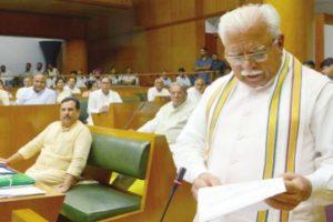 Khattar announces developmental works for late Midha's constituency