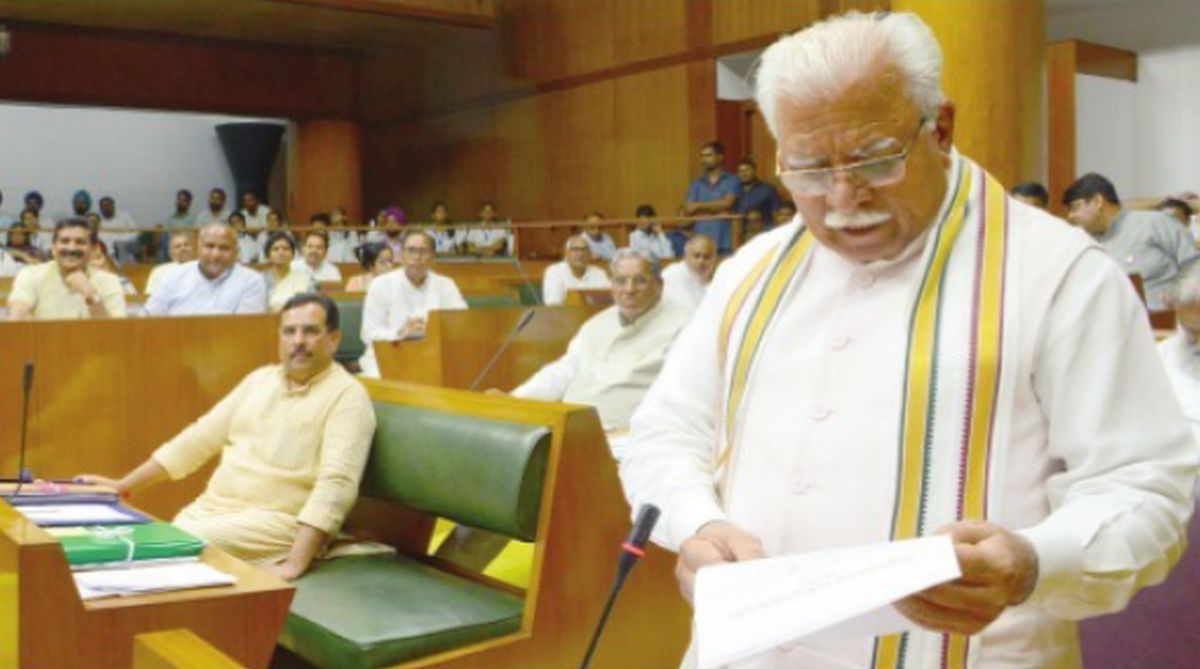 Manohar Lal Khattar, Hari Chand Midha, Jind Assembly, INLD, social work