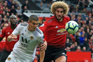 Watch: 'Disappointed' Marouane Fellaini reacts to Manchester United's draw with Wolves