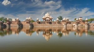 Kusum Sarovar in Mathura