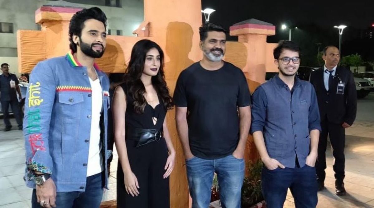 Mitron team visits Ahmedabad to promote their film
