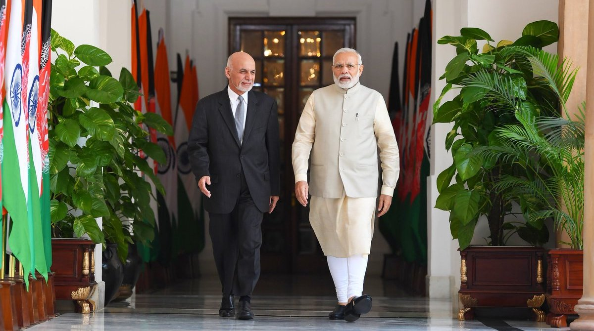 PM Modi, Ashraf Ghani, Review, India-Afghan, Strategic partnership