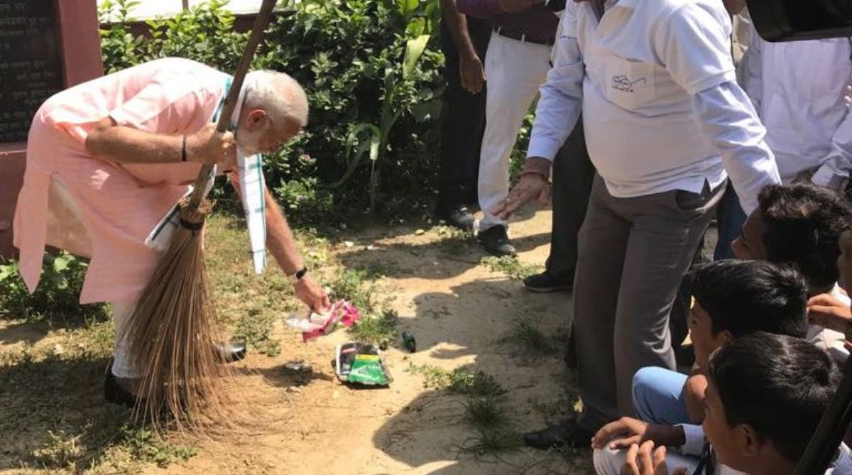 Modi Cleanliness