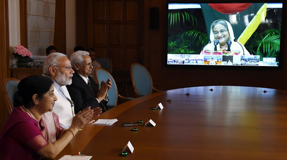 India, Bangladesh, Infrastructure projects, PM Modi, Sheikh Hasina