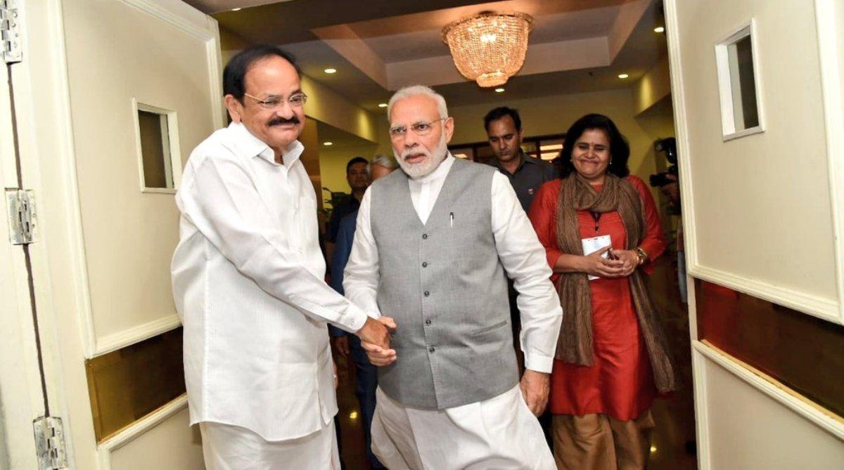 PM Modi, Venkaiah Naidu