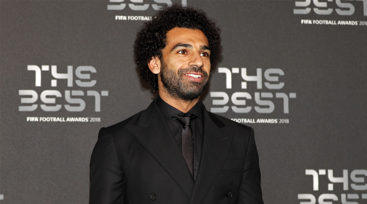 Mohamed Salah, Liverpool F.C., Premier League, Liverpool vs Everton, Merseyside Derby, Puskas Award, FIFA Best, UEFA Champions League, Liverpool News, Twitter, Twitter Video