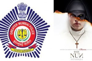 Mumbai Police Twitter handle uses 'The Nun' meme to drill in parking sense