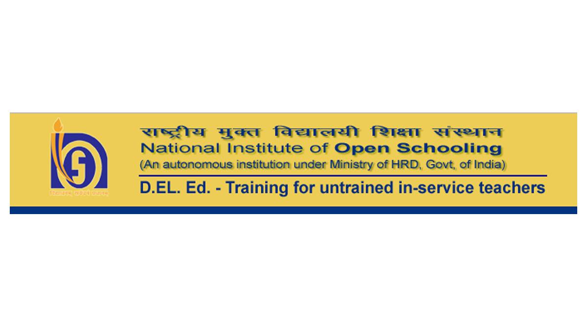 National School of Open Learning, dled.nios.ac.in, NIOS DElED 2nd Examination, NIOS DElED Hall Ticket 2018, NIOS DElED Admit Card 2018