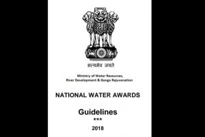 Ministry of Water Resources invites entries for National Water Awards 2018